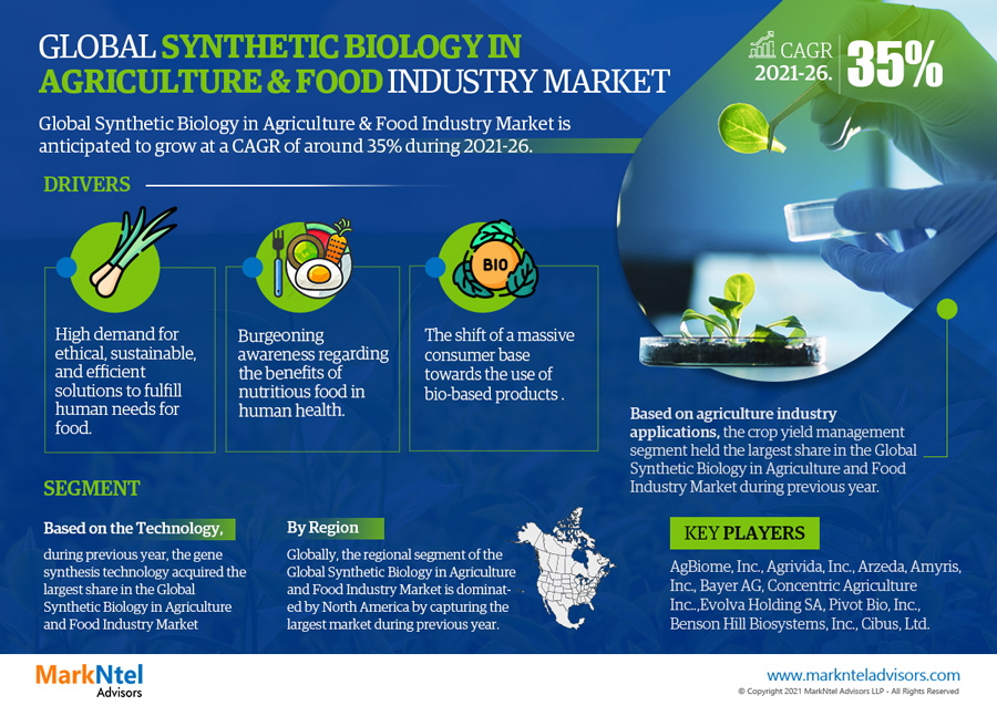 Infographics : Synthetic Biology in Agriculture & Food Market Data & Numbers