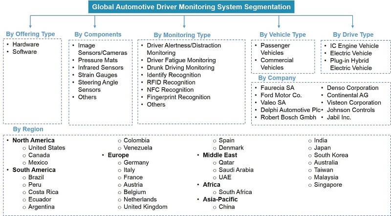 Global Automotive Driver Monitoring System Market Segmentation