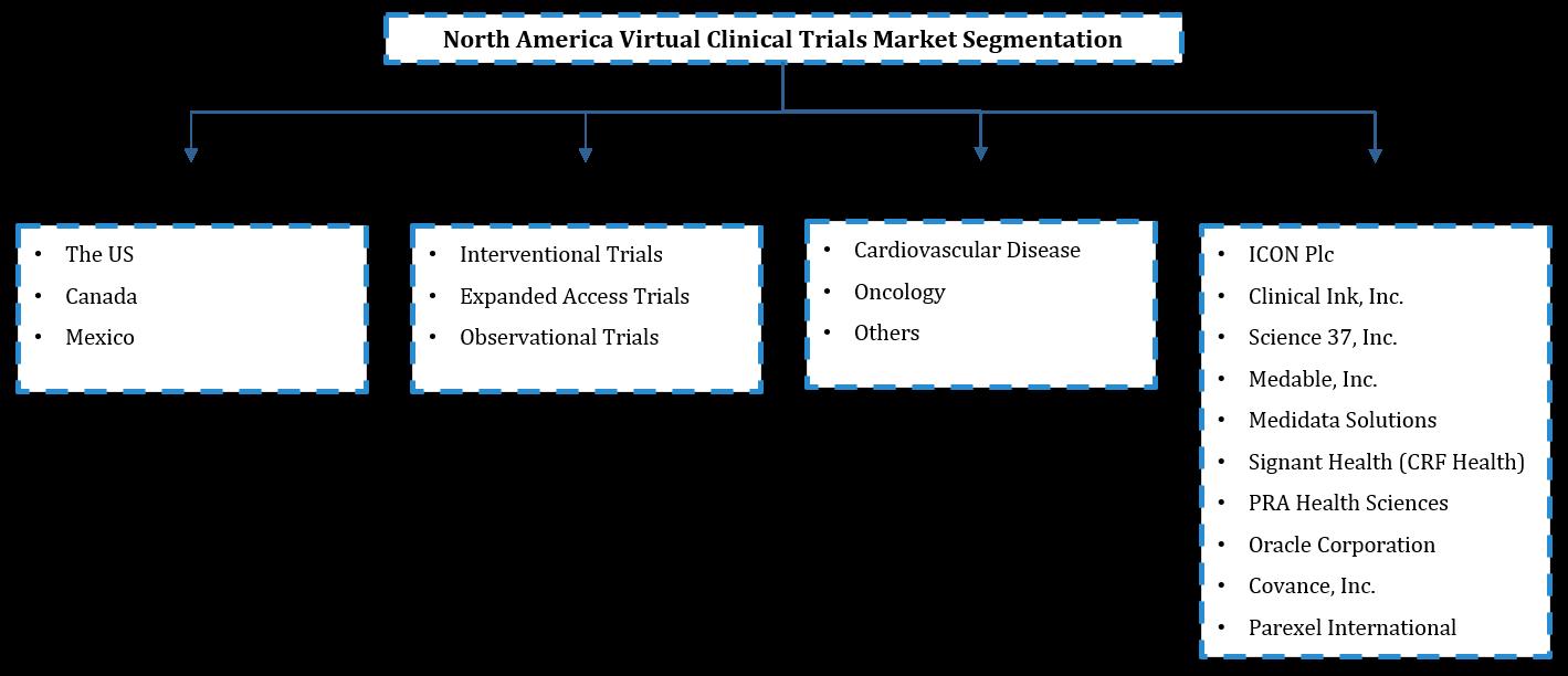 North America Virtual Clinical Trials Market Segmentation