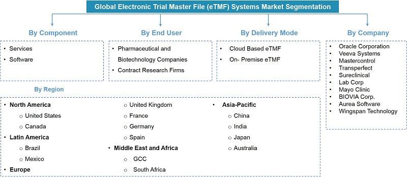 Electronic Trial Master Files Market Segmentation