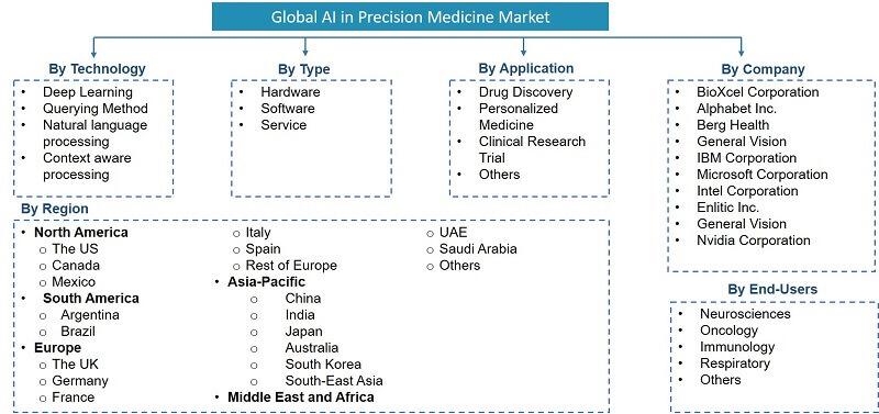 Global Artificial Intelligence (AI) in Precision Medicine Market Segmentation