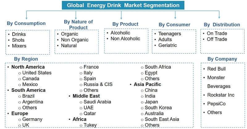 Global Energy Drinks Market Segmentation