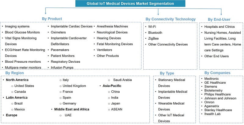 Global IoT Medical Devices Market Segmentation