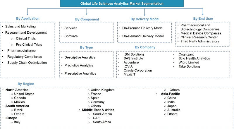 Global Life Sciences Analytics Market Segmentation