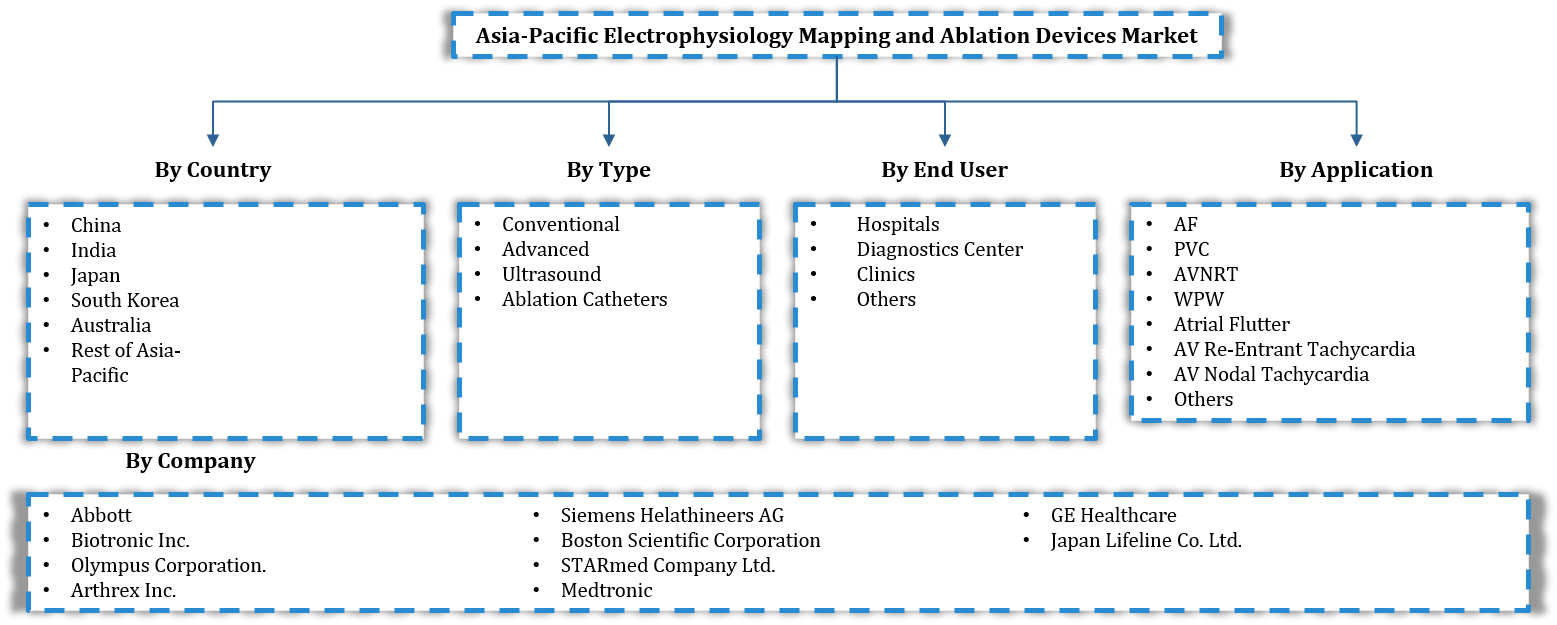 Asia Pacific Electrophysiology Mapping And Ablation Device Market Segmentation