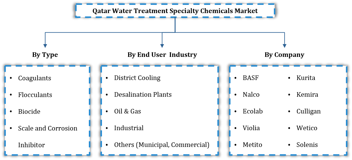 Qatar Water Treatment Specialty Chemicals Market Segmentation