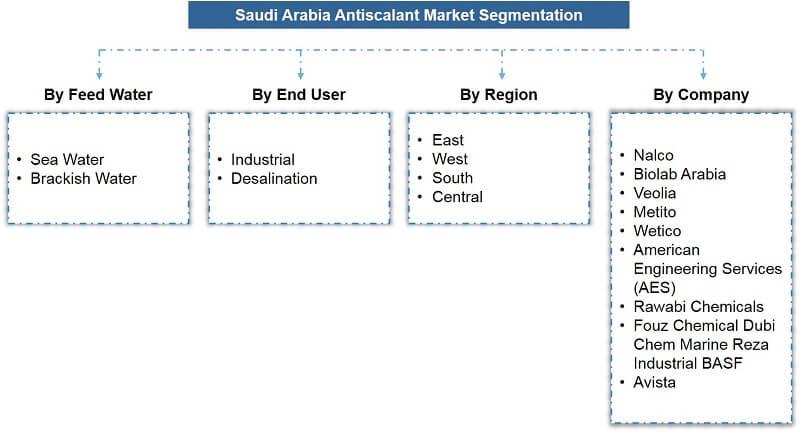 Saudi Arabia Antiscalant Market Segmentation
