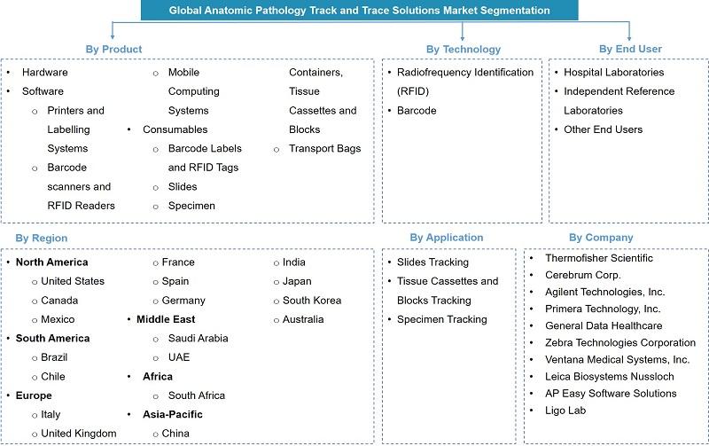 Global Anatomic Pathology Trace and Track Solutions Market Segmentation
