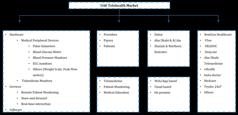 UAE Telehealth Market Segmentation