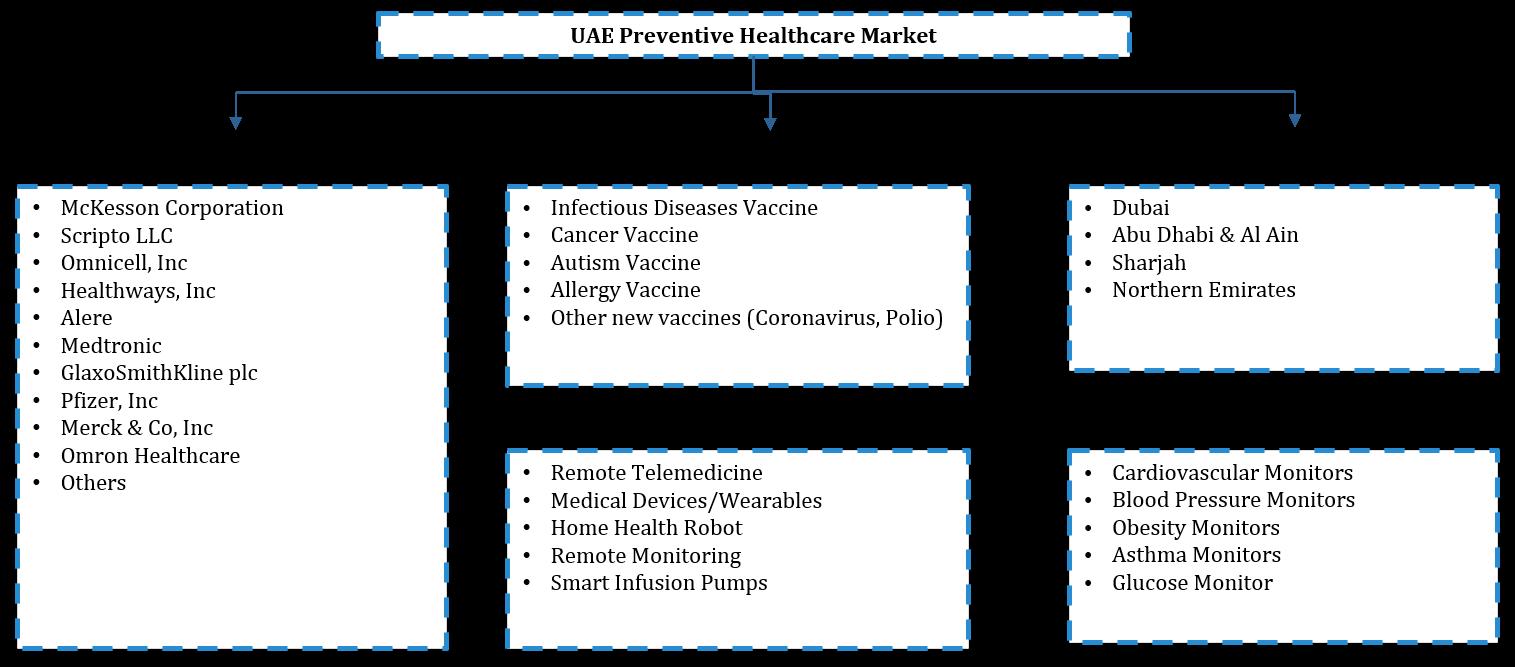 UAE Preventive Healthcare Market Segmentation