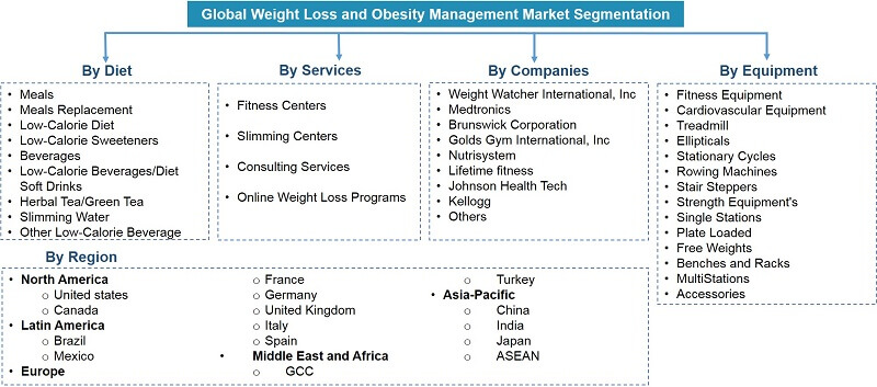 Global Weight Loss and Obesity Management Market Segmentation