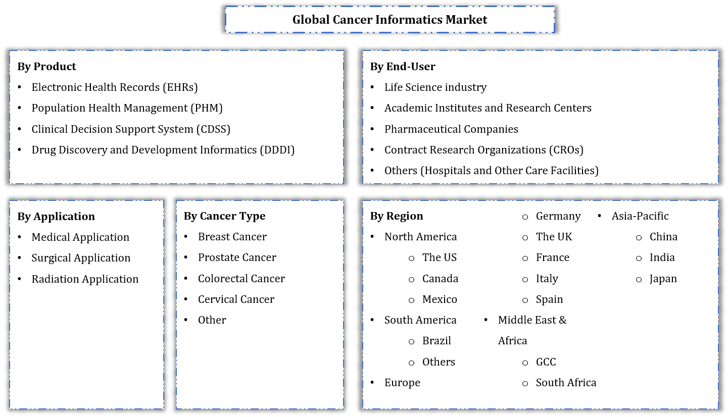 Global Cancer Informatics Market Segmentation